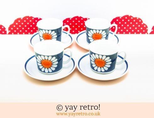 60: Figgjo Flint Daisy Tea set (£120.00)
