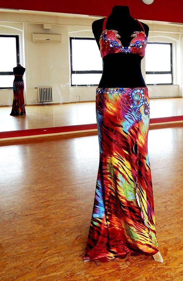 Bellydance Costume. Wild Fire :-)