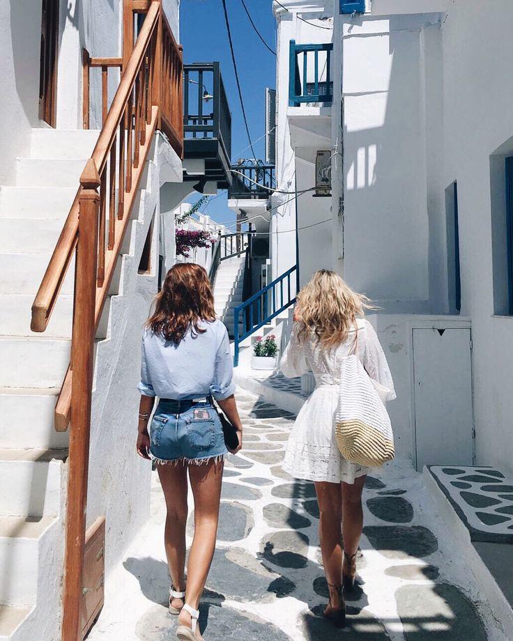 Mykonos Greece vacation style