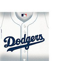 Los Angeles Dodgers Lunch Napkins 36ct