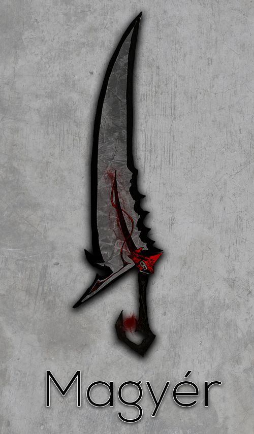 Fantasy Graphic of Sword by Me