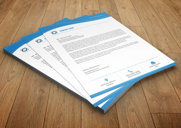 Best Corporate Letterhead Template Word Psd Ai And Eps Format