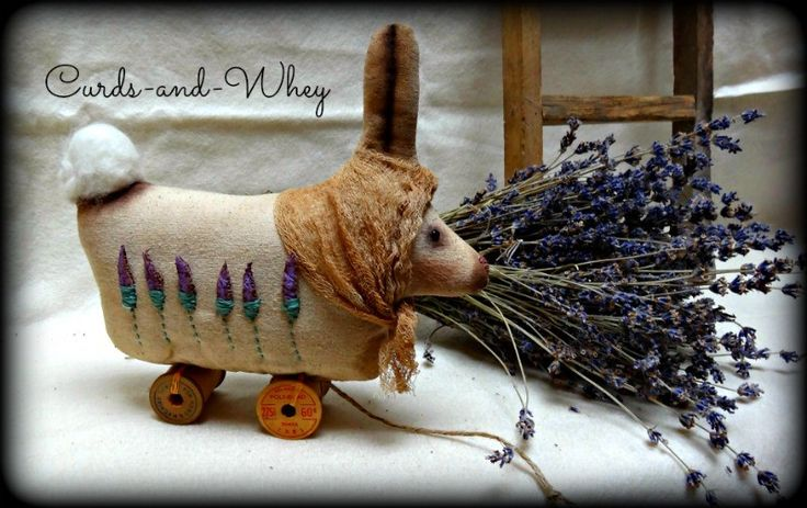 Lavender Fields by Curds-and-Whey