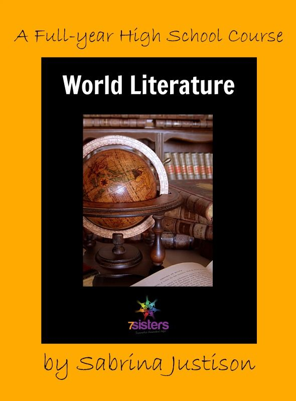 World Literature Full-Year Course: plan to include World Lit for a powerful homeschool transcript