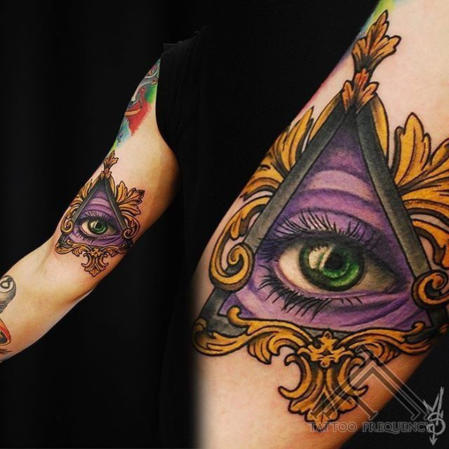 Illuminati Triangle Tattoo 25+ great ideas...