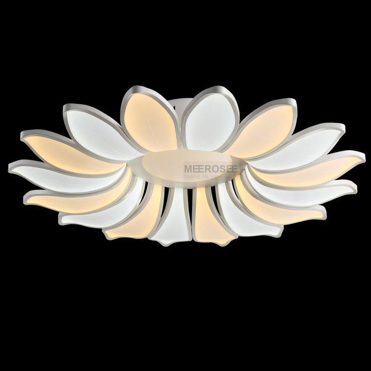 find more chandeliers information about big lamp led chandelier light fixture flower acrylic led lighting modern