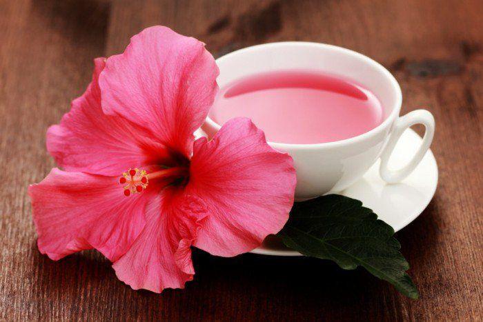 O chá hibisco, além de facilitar na hora da digestão, ele ajuda na queima de gordura, retenção de líquidos, tem ação digestiva e diurética e reduz o colesterol ruim. Por isso ele tem sido um dos componentes principais e essenciais nas dietas.