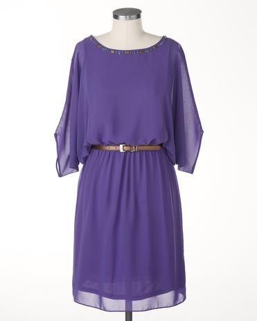 Платье из шифона для женщин