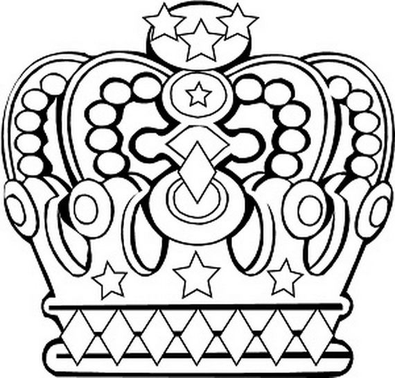 Respect Theme: King and Queen Coloring Sheets | Queen Elizabeth Diamond Jubilee Coloring Pages | Family Holiday