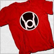 Camiseta Sheldon Lanterna Vermelha - Camisetas #PenseGeek