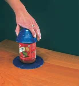 A Dycem Jar Opener Will Allow The Jar To Be Adhesive To