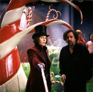 Johnny Depp & Tim BurtonChocolate Factory, Johnny Depp, Chocolates Factories, De Chocolates, Movie, Willis Wonka, Tim Burton, Johnnydepp, Timburton