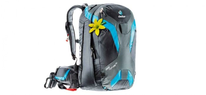 Stay safe in the backcountry with the Deuter OnTop Pack, an avalanche airbag backpack designed to fit women. Pull a handle and an integrated ABS airbag inflates in seconds. The airbag helps keep a person on top of snow during an avalanche to increase the chance of survival. These packs often cost upwards of $1,000, so this sale is a remarkable opportunity to get one cheap.