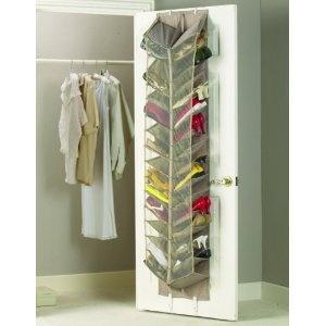30 Pocket Schwingtor Hanging Schuhorganizer - Mesh Schuhregal - Schuhablage