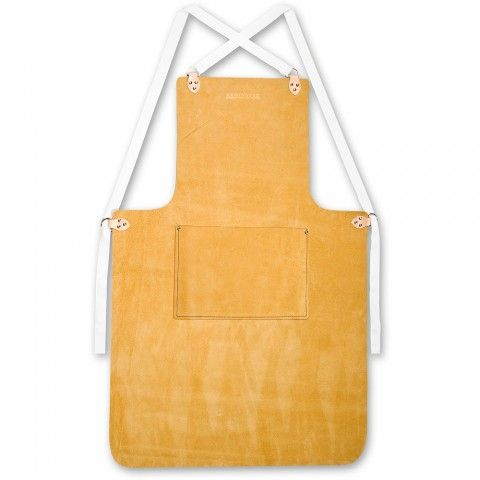 Leather Apron - Work Aprons - Clothing - Safety & Workwear   Axminster Tools & Machinery