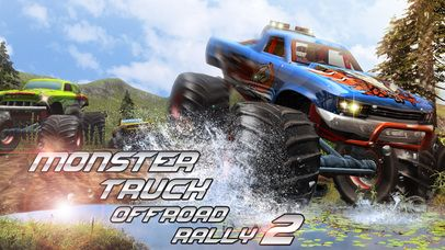 Monster Truck Offroad Rally 3D 2 Full Games Racing | iPhone App...: Monster Truck Offroad Rally 3D 2 Full Games… #iphone #Games #Racing