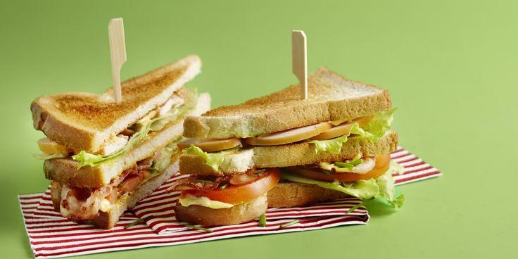 Boodschappen - Club sandwich