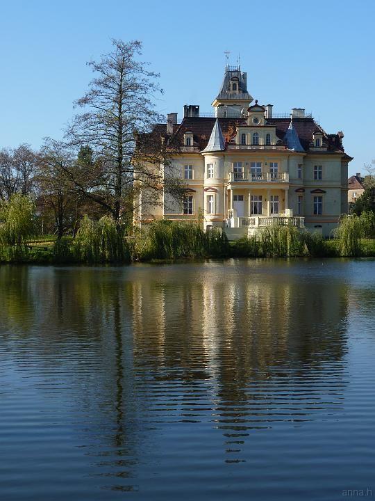 Palace Makowice, Swidnica, Lower Silesia, Poland.