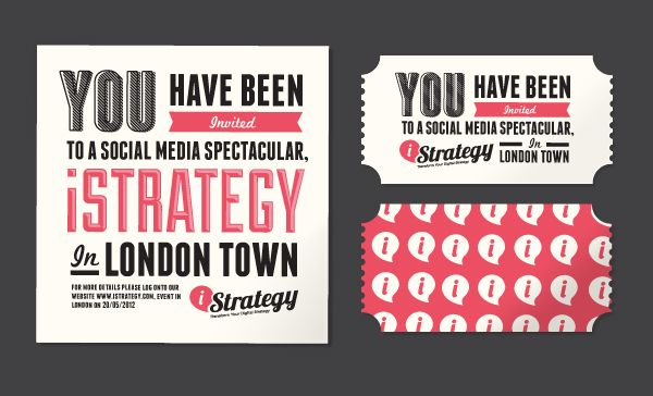 Event Guide by Danny Shaw, via Behance