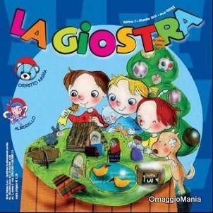 Copia omaggio rivista per bambini La Giostra