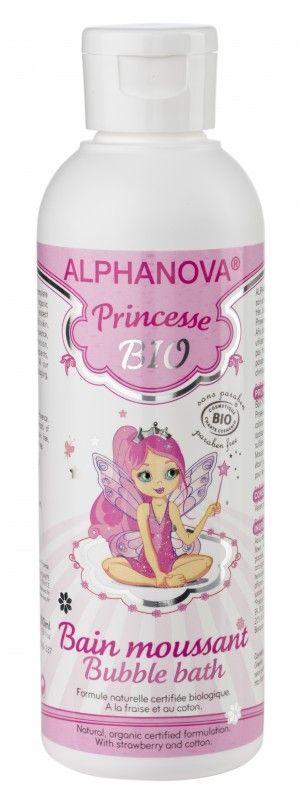 Een heerlijk badschuim voor meisjes. Het is 100% natuurlijk en bevat extracten van biologische aardbei.