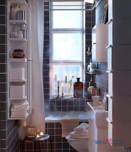 Aranżacje małej łazienki IKEA - 2012
