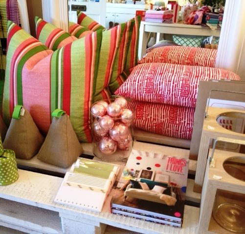 Bespoke cushions by Mantel & Church, stunning!