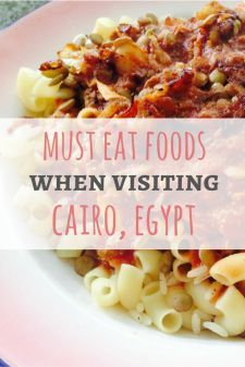 Must Eat Foods When Visiting Egypt: A comprehensive guide from Passport & Plates blog!