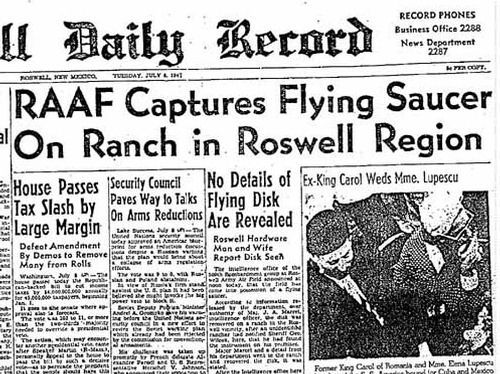 the speculations about the paranormal activity at area 51 near roswell new mexico Burlington ufo and paranormal center located in testing begins at area 51 the disk that crashed in 1947 at roswell, new mexico had several reptilian.