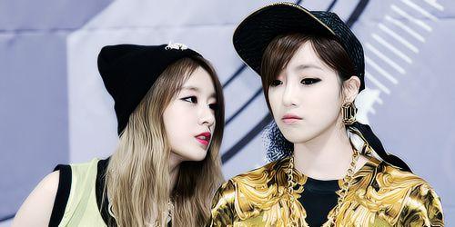 Jiyeon and Eunjung