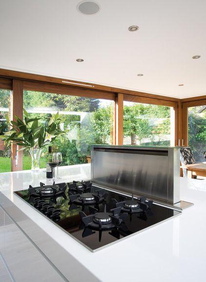 Best 25 island range hood ideas on pinterest island stove stove in island and kitchen island - Stylishly modern kitchen islands additional work surface ...