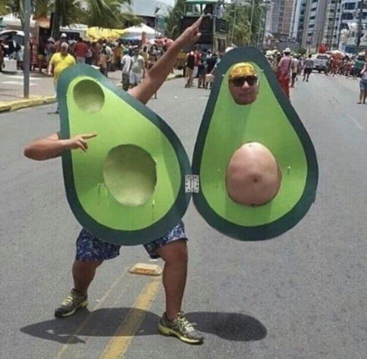 This Man In Avocado Costume