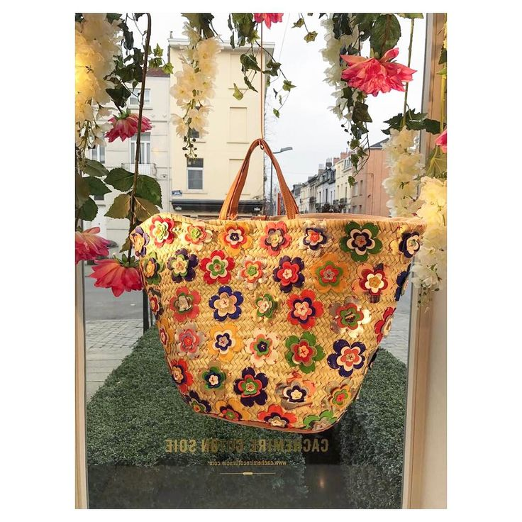 Fresh delivery! #flowerpower #shoppingbag #newcollection