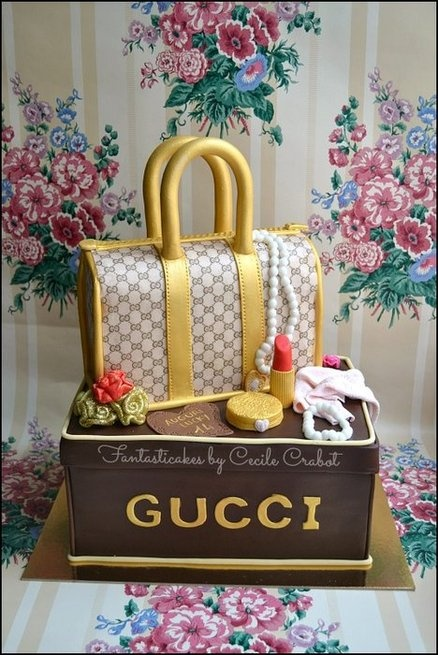 Gucci Fashion Cake  Cake by CecileCrabot