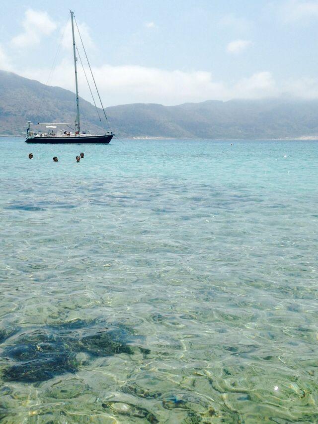 Crete, Gramvoussa Island