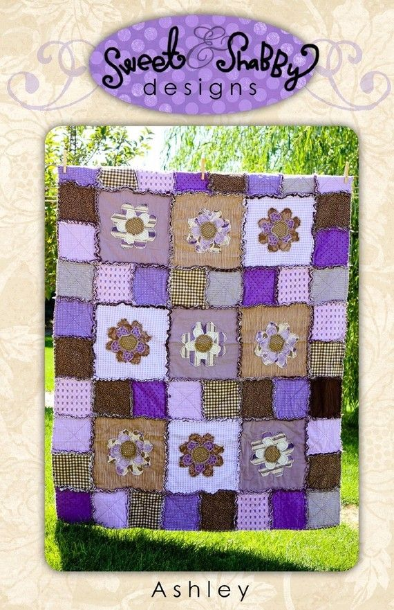 Ashley Quilt Pattern by sweetandshabbyquilts on Etsy, $9.50