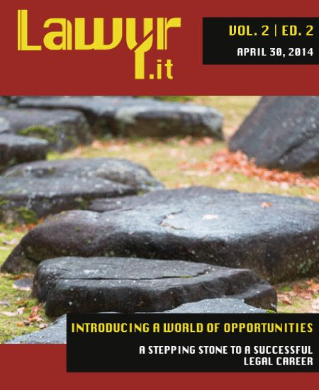 Lawyr.it is happy to announce the launch of their newest issue, containing many surprises! http://issuu.com/lawyr.it/docs/lawyr.it_ed._2_vol._2
