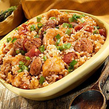 Cajun Cabbage Jambalaya is a quick, spicy, and delicious recipe. It's made with cabbage, pork sausage, onion, garlic, bell peppers, and basmati rice.