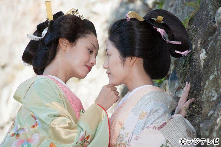 フジテレビ「大奥 第一部~最凶の女~」エリカ様とまゆゆが! 着物、人もみんなきれいです。話は中国の皇帝の妻たちの話より全然甘いです。笑。