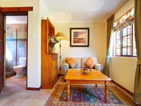 Self catering accommodation, Noordhoek, Cape Town  Bathroom and bedroom/lounge area
