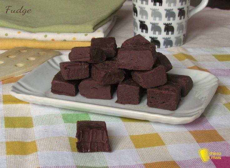 Fudge - cioccolatini americani, ricetta con video