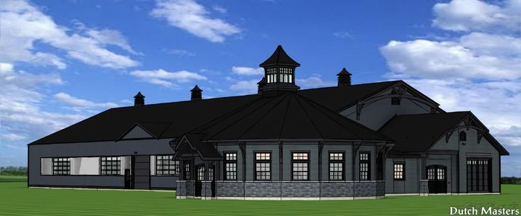 Dutch Masters Design and Construction Horse Barn Builders Ontario Now under construction - stay tuned for progress