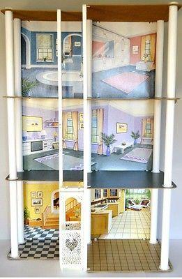 Vintage Barbie Townhouse Mattel with Elevator