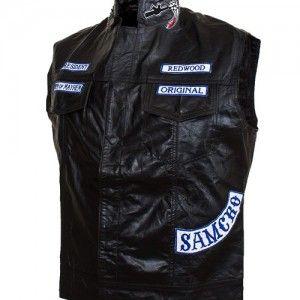 Special offers leather vest for men's at leatherjacketuk.com