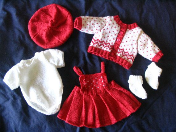 Morgan PDF Knitting Pattern for Doll Clothes to suit 16-17 inch / 40 - 43cm Baby Dolls such as Baby Born