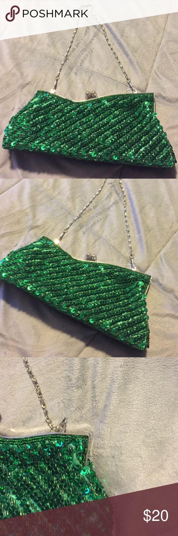 Green clutch Green clutch Bags Clutches & Wristlets