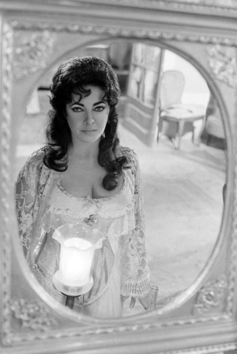 Elizabeth Taylor in A Little Night Music, by Terry O'Neill, 1977.