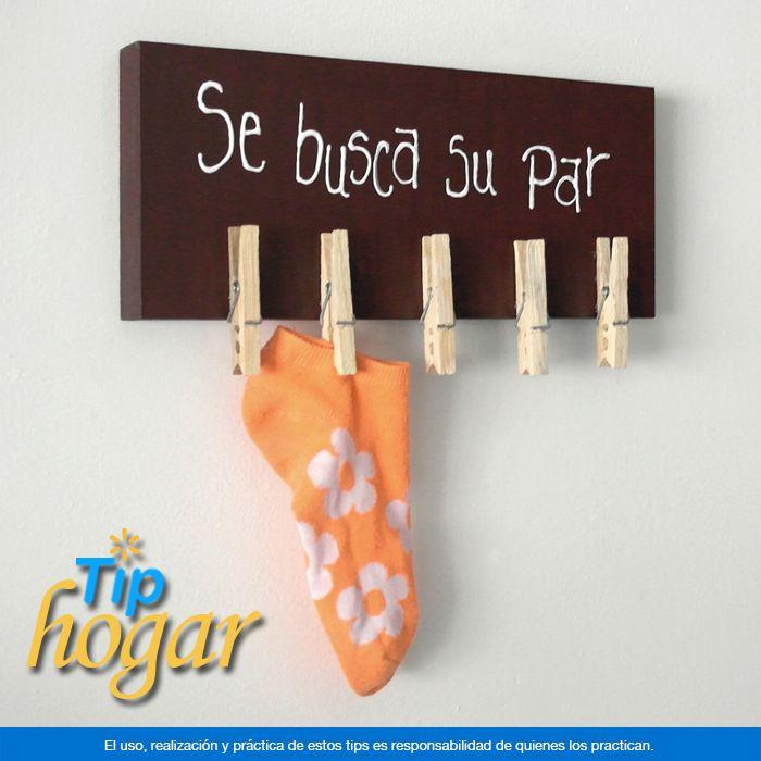 Crea un divertido localizador de calcetines para los niños.  Si tus hijos 'pierden' dentro de casa sus calcetines y luego es complicado encontrar los pares, esta divertida idea les ayudará a organizar y cuidar su ropa, además de mantener su cuarto en orden.  En Walmart SIEMPRE encuentras TODO y pagas menos.