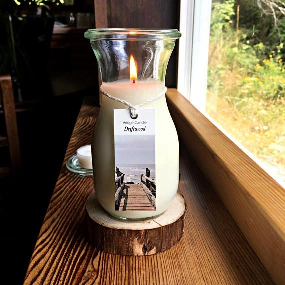 Coconut Wax Candle in a Weck Juice Jar