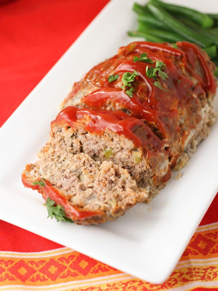 Slow-Cooker Meatloaf with Mushrooms  and Sun-Dried Tomatoes